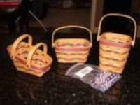Longaberger Baskets - All American Collection - Price: . O