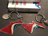 Carnival Cruise Line keychains and playing cards!
