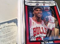 "Michael Jordan Plate -""The 5th Ring"""