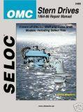 Buy Seloc Repair Manual OMC Stern Drive 64-86 4 Cyl V6 V8 motorcycle in Millsboro, Delaware, US, for US $26.95