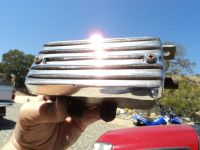 Sell Dune Buggy Finned Aluminum Breather, Rat Rod, Hot Rod, Sand Rail. motorcycle in Madera, California, US, for US $39.00