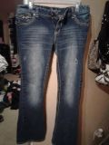Amethyst super super cute and sexy ripped jeans size 13 $10