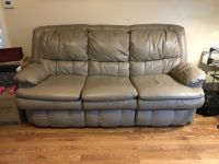 Leather Hide Abed Couch