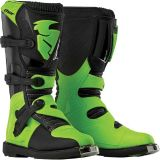 Find NEW THOR YOUTH KIDS BOYS GIRLS BLACK GREEN BLITZ MOTOCROSS MX ATV BOOTS RIDING motorcycle in Ellington, Connecticut, United States, for US $129.95