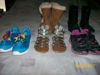 Girls Boots, Sandals, and Tennis Shoes