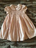 Pretty Classic Smocked Pick Janie and Jack Dress Pink Cute for