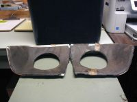 Sell 1963 Impala Outer quarter tail light cove molding pair (R/L) NOS motorcycle in Eugene, Oregon, US, for US $140.00