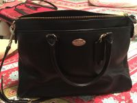 Authentic pebbled leather Coach purse