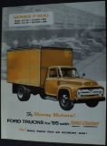 Sell 1955 Ford Truck Series F 500 Stake Tank Dump Garbage Cargo Van Sales Brochure motorcycle in Holts Summit, Missouri, United States, for US $16.57