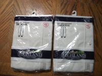 Highland 2 pair of long johns. ( new) size Large 38-40
