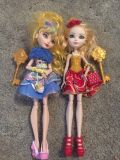 2 VGUC Ever After High Dolls