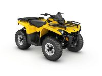 2017 Can-Am Outlander DPS 450 Utility ATVs Lancaster, NH