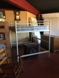 Full Size Loft Bed With Mattress
