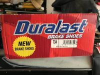 duralast brake shoes part#734 dodge, ford, lincoln