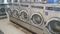 Good Condition Dexter Triple Load T400 Front Load Washer 220 3PH Stainless Steel Used