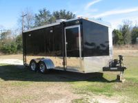 2013 custom built 7x16 toy hauler