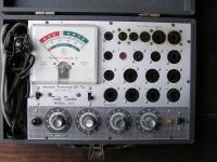 Antique Television Tube Tester