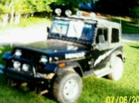 Sell 1993 Jeep Wrangler motorcycle in West Branch, Michigan, United States