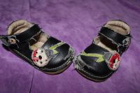 Lady Bug Squeeky Sandals size 4