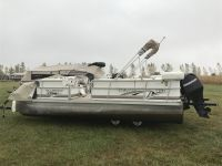 Odyssey millennium pontoon boat with lake Carroll lot