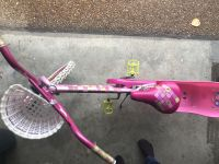 Huffy 20 girls bike with basket and doll carrier