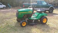 Weed eater riding mower