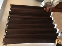 "4 Panel Black-Out Curtain Curtains (Brown/Chocolate) - Fit 2 windows up to 34""W x70""H OR 1 windo..."