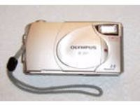 Olympus Camera Model D380 2.0 MP Tan - 2 64Mb Storage San