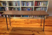 Authentic 70's Console Table with HairPin Legs