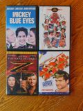 Set of 4 Mickey Blue Eyes, It's a mad, mad, mad world, The mast of zorro, Animal House