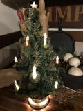 Antique table top tree