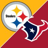 (2/4) Texans vs Pittsburgh Steelers 5th Row/Aisle/Sideline Seats - Dec. 25 - Call Now!
