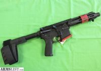 For Sale: Springfield Armory SAINT 5.56 pistol with brace and flash can #6403