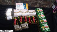 For Sale: 22 long rifle ammo 380 ammo 9mm ammo