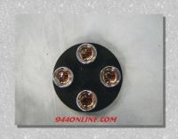 Sell PORSCHE 924 944 928 911 928 COLOR CRESTED VALVE STEM CAPS motorcycle in Pompano Beach, Florida, US, for US $16.95