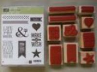 Stampin Up stamp set quotPerfect Pennants quot