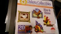 New Dakota collectibles embroidery CD