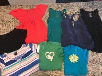8 Maternity Summer Shirts Size Medium (Motherhood, A Pea In The Pod, Gap, Old Navy)