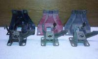 Purchase 1960 1961 Chevy truck HOOD LATCH n RECEIVER Bracket SET. used GM OEM motorcycle in Owatonna, Minnesota, United States, for US $27.50