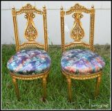 Louis XV 19th Century, Antique Chairs