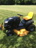 """2009-10 Craftsman PYT9000 garden tractor 26hp. motor 50"""" deck only 378 hours hydro. trans. very ..."""