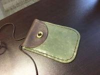 NEW Green Leather purse