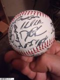 For Sale/Trade: AUTOGRAPHED BOSTON RED SOX BASEBALL!!