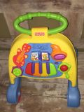 GUC Wall behind push toy Fisher Price