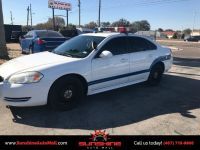 2011 Chevrolet Impala 4dr Sedan Police Equipped Light Siren Radio