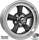 """Sell (4) 15x6"""" GRAY AMERICAN RACING TORQ THRUST D WHEELS RIMS, CHEVY C2 CORVETTE 1967 motorcycle in Spring, Texas, United States, for US $729.00"""