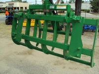 NEW John Deere stye quick attach root  brush grapple