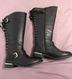 Cute Fall Boots - Size 10 Wide Calf