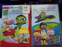 PBS kids Around the World Adventures and Double Feature DVDs