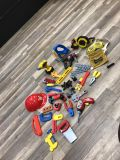 Boys tools/fisher price/little tikes sounds $20